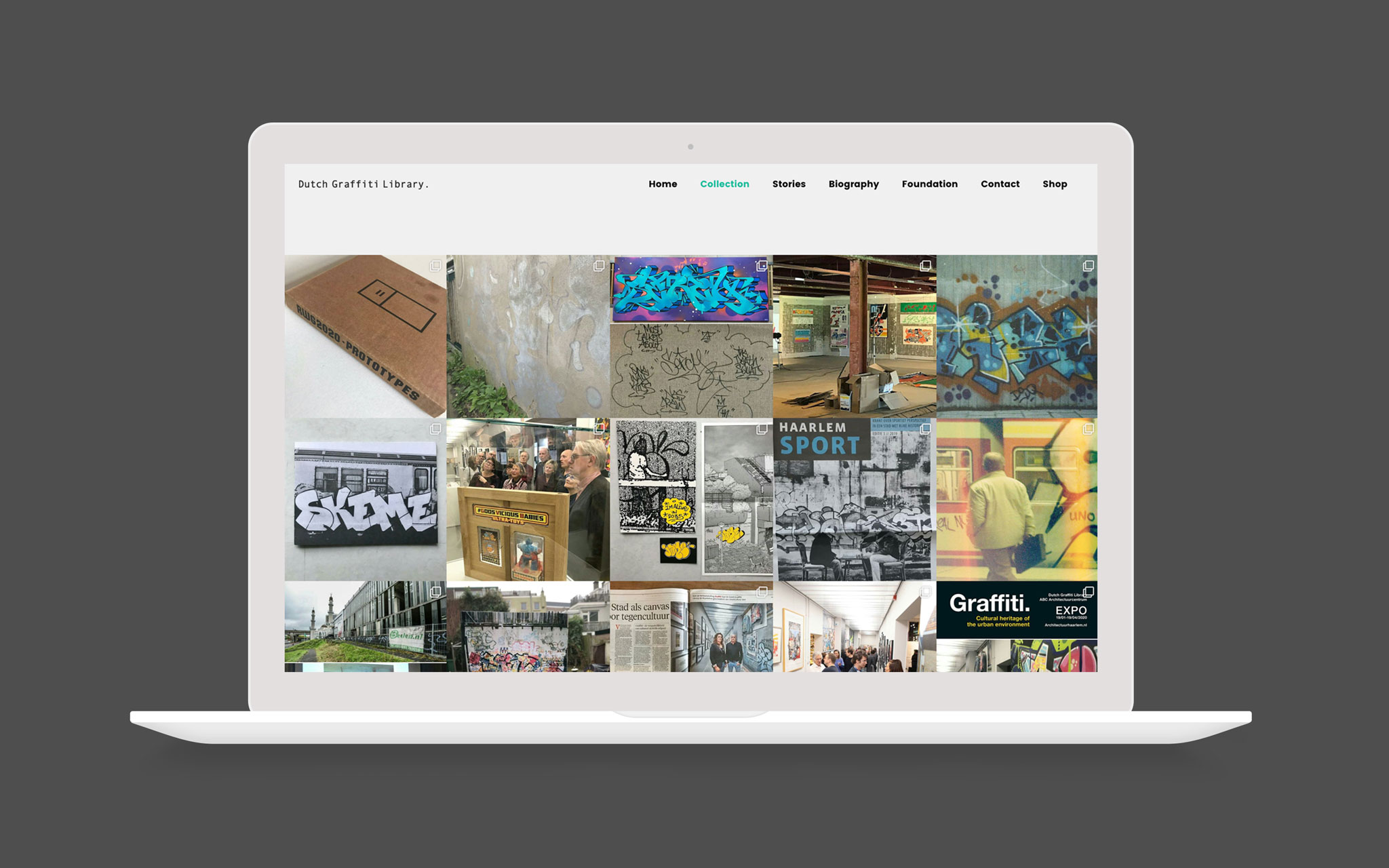 Dutch Graffiti Library collection pagina Instagram feed