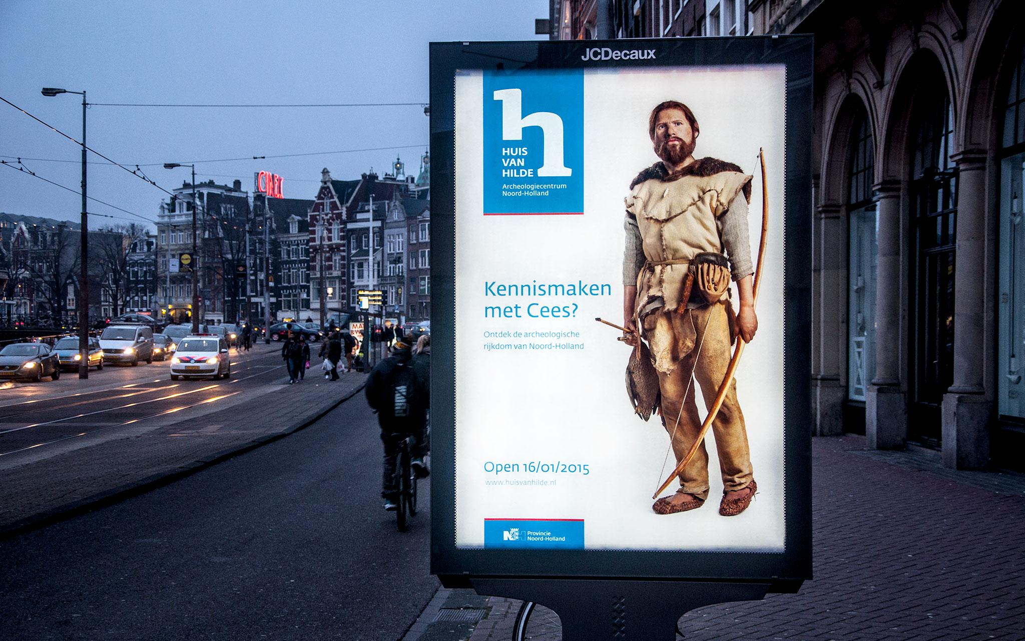 Huis van Hilde poster Cees Rokin, Amsterdam