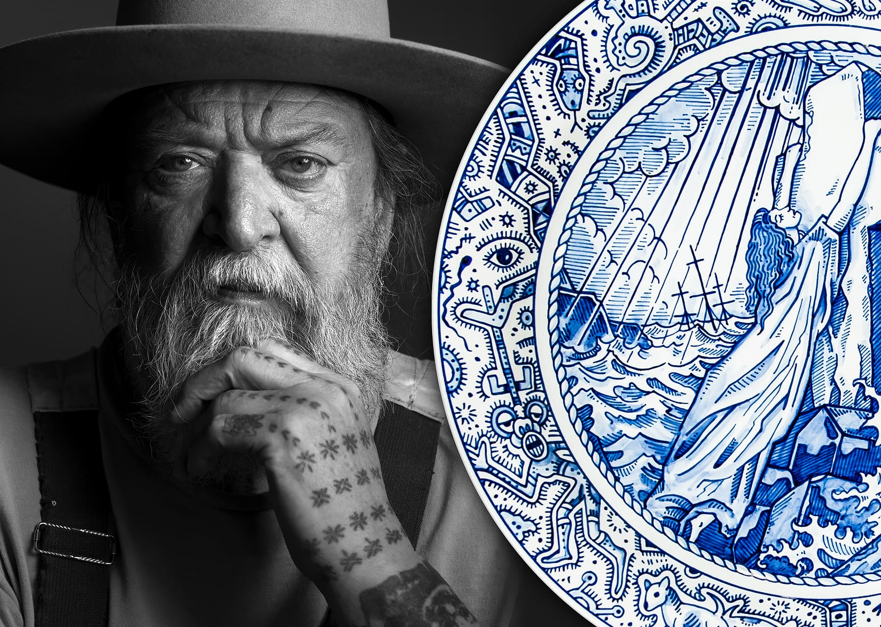 Schiffmacher Royal Blue Tattoo