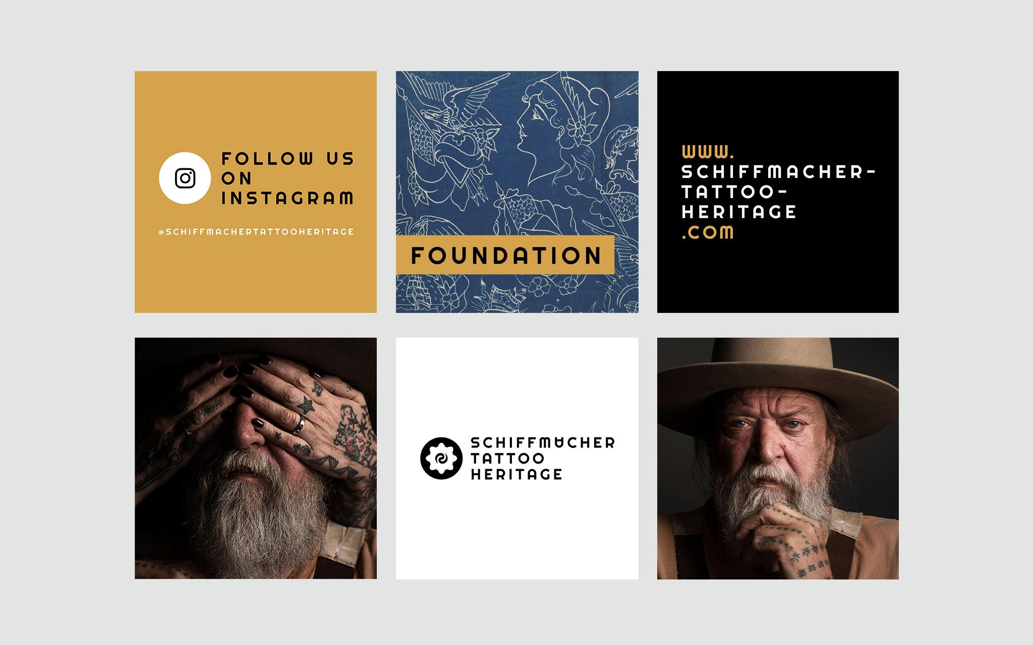 Schiffmacher Tattoo Heritage voorstel Instagram posts