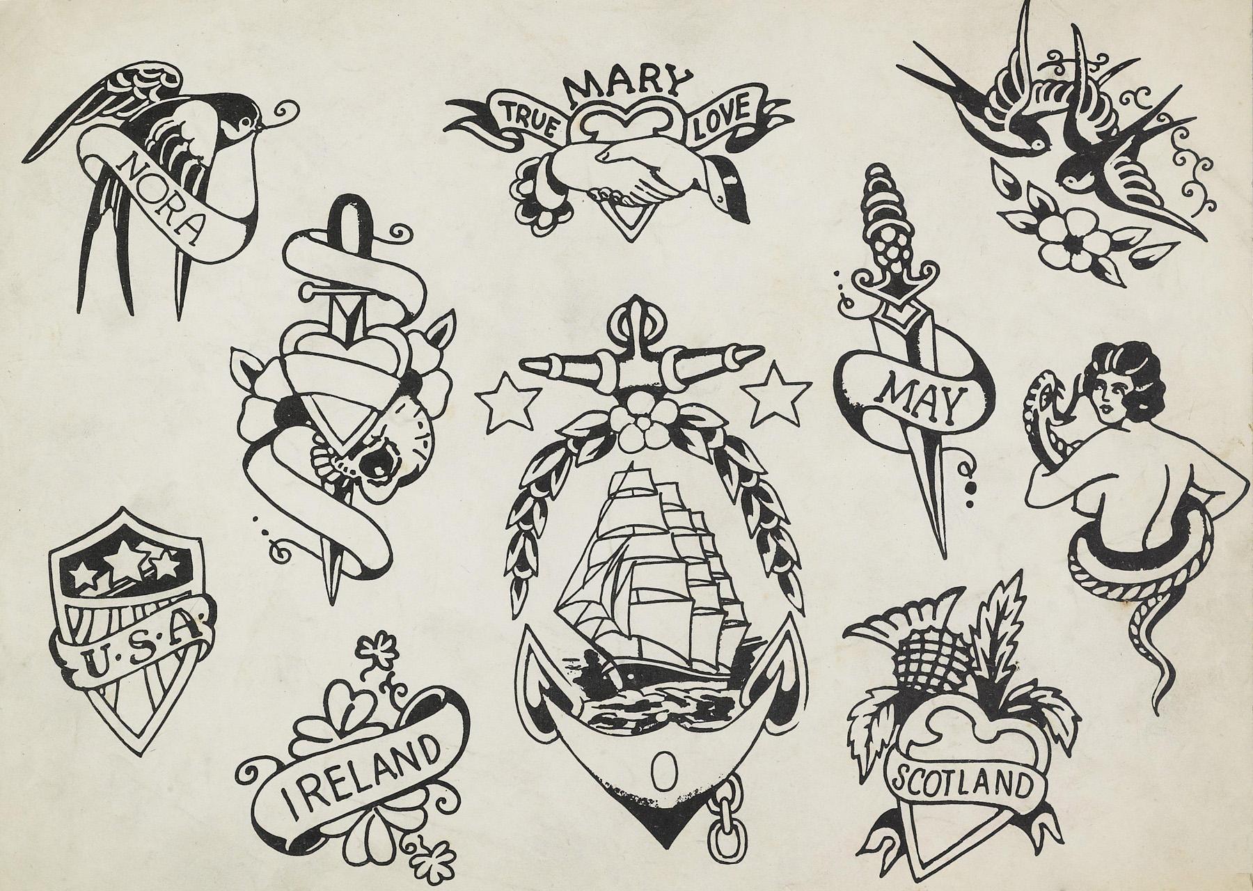Schiffmacher Tattoo Heritage tekening