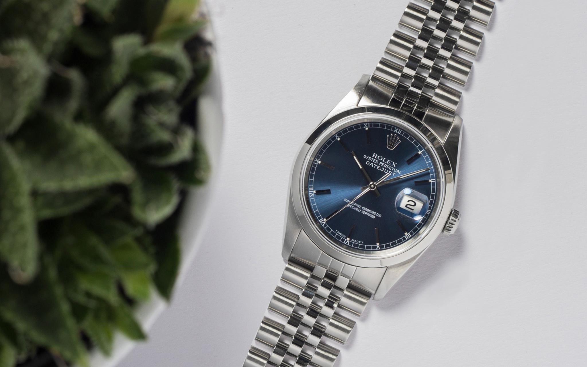 Watch-Works Haarlem Rolex horloge sfeerfoto naast plant