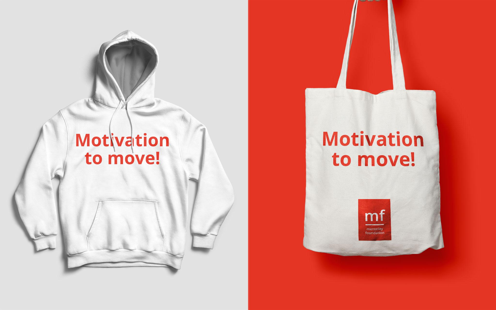 Mentelity Foundation visuele identiteit