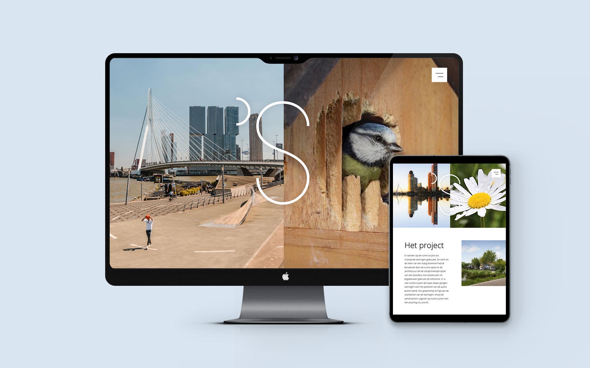 Bureau Kroner 's-Gravenweg Het beste van twee werelden in Rotterdam responsive website